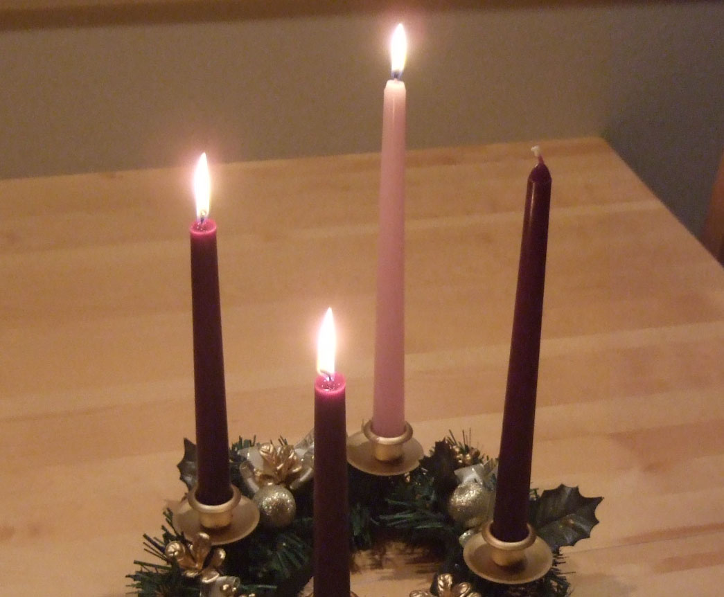 Advent Wreath Week 3