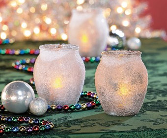 Candle Frosted Craft