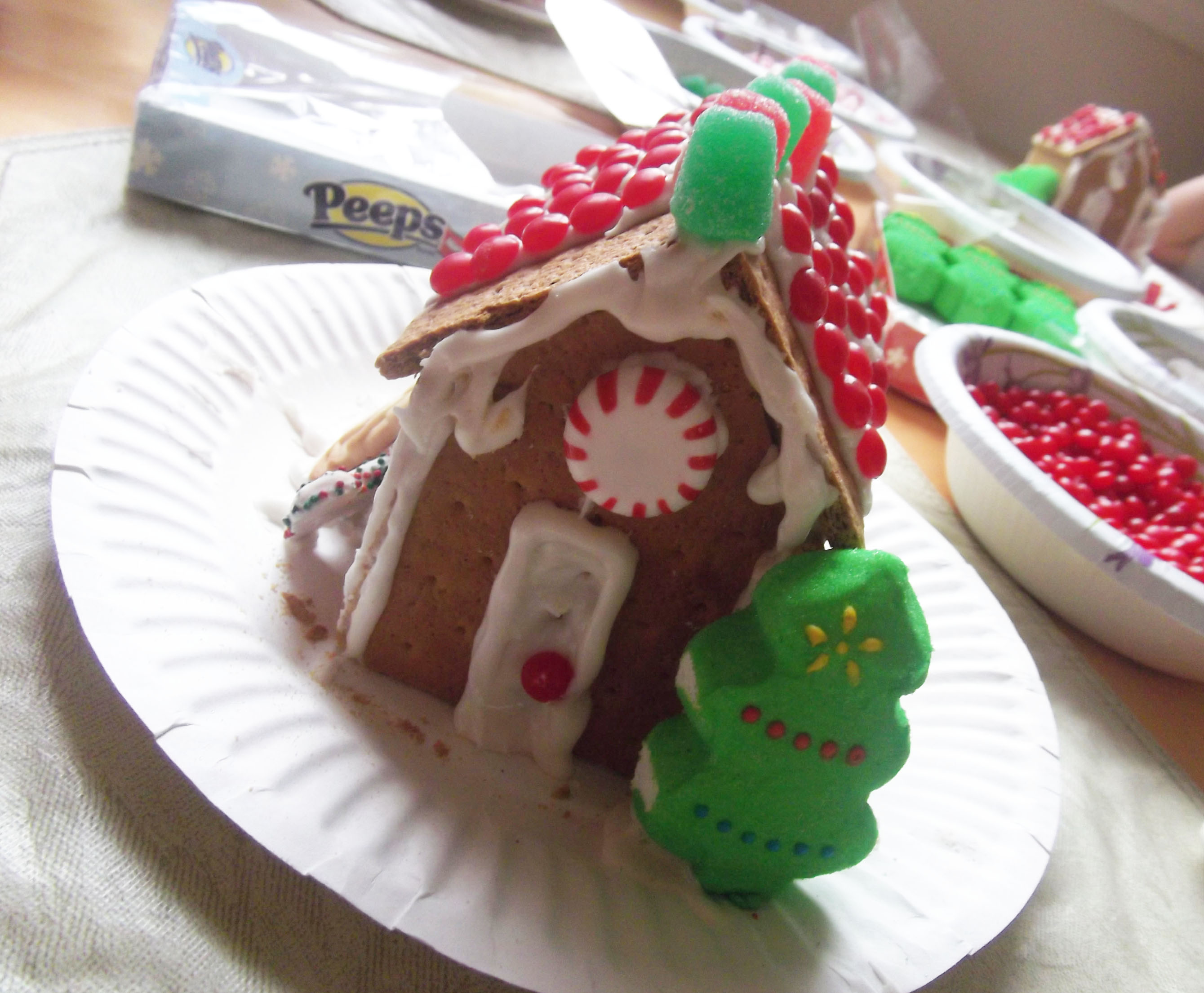 graham cracker house recipe celebrating holidays