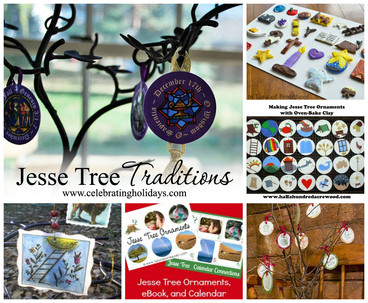 photo regarding Jesse Tree Symbols Printable titled Jesse Tree Traditions Celebrating Vacations