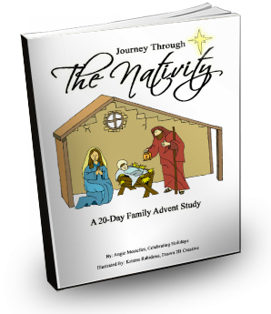 Journey Through the Nativity (A 20-Day Advent Study)