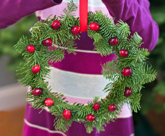 Wreath of Pines Craft