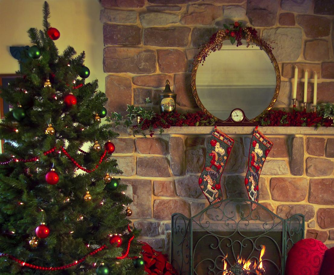 Traditional Christmas Symbols Celebrating Holidays