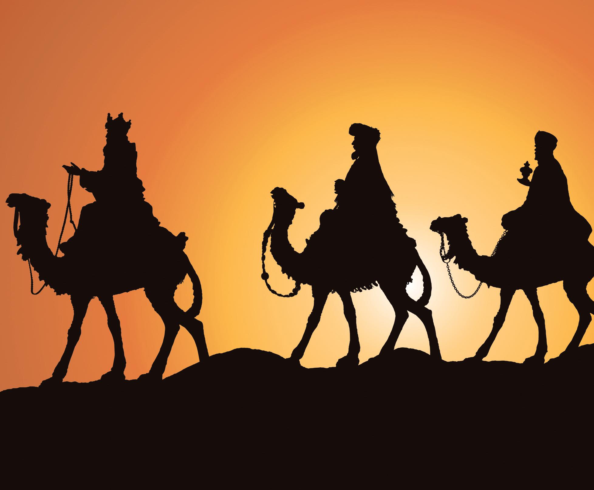 Traditional christmas symbols celebrating holidays wise men buycottarizona Images