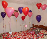 Balloons with Love Notes