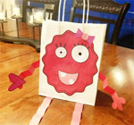 Valentine Monster Gift Bag