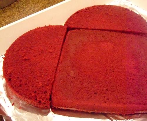 How To Make A Heart Shaped Cake Celebrating Holidays