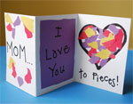 Love to Pieces Valentine Card