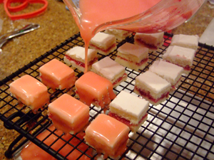 How To Make Petit Fours Celebrating Holidays