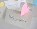 Heart Dimensional Placecard
