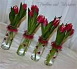 Bottle Tulips
