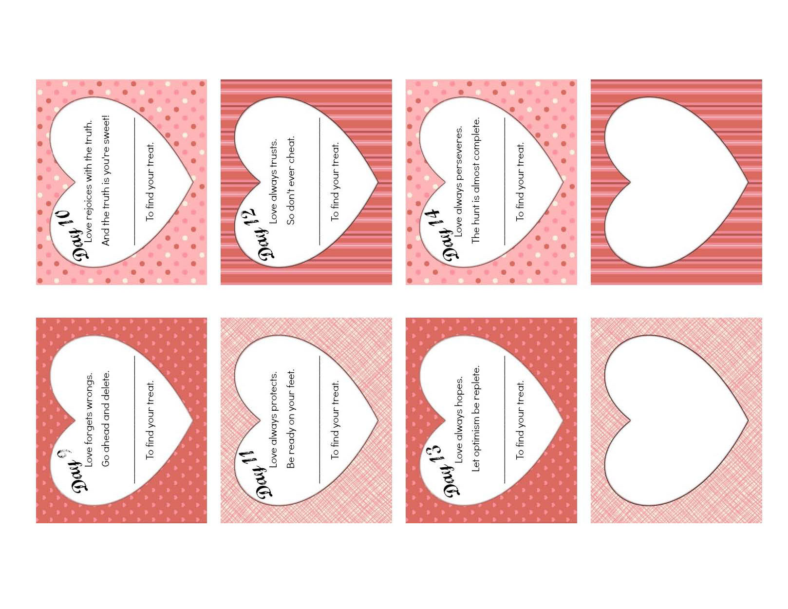 ... Valentineu0027s Day Countdown Clues 9 14