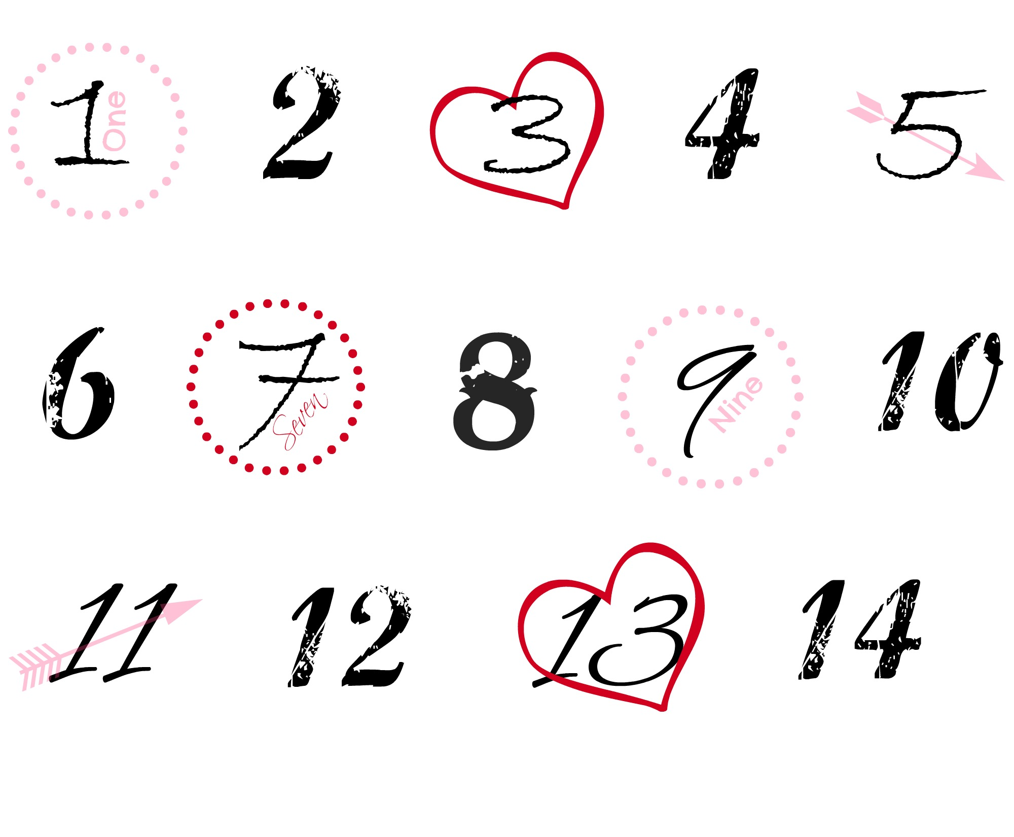 A Bible Verse and Scavenger Hunt Countdown for Valentine's Day ...