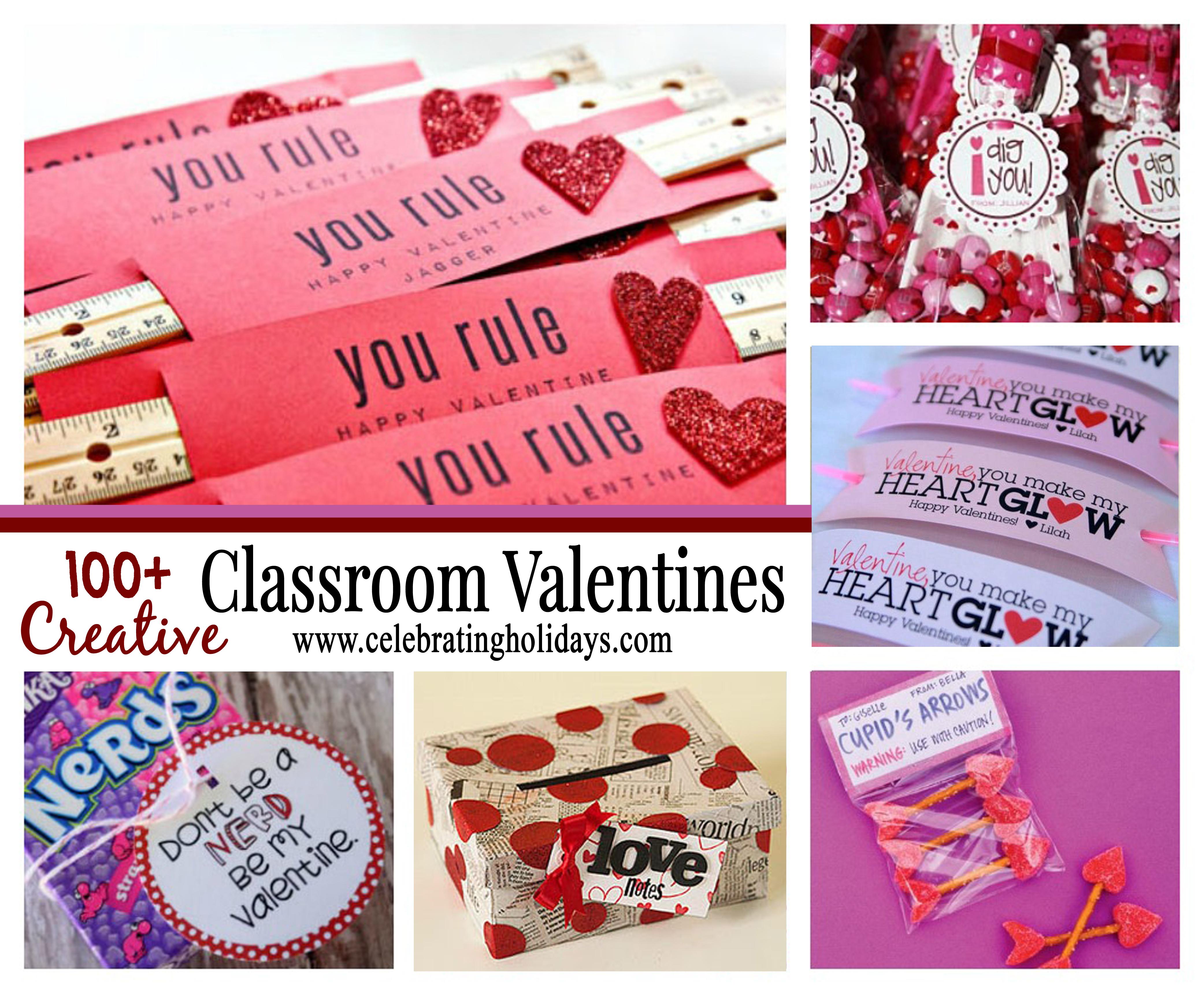 Classroom Valentine Ideas