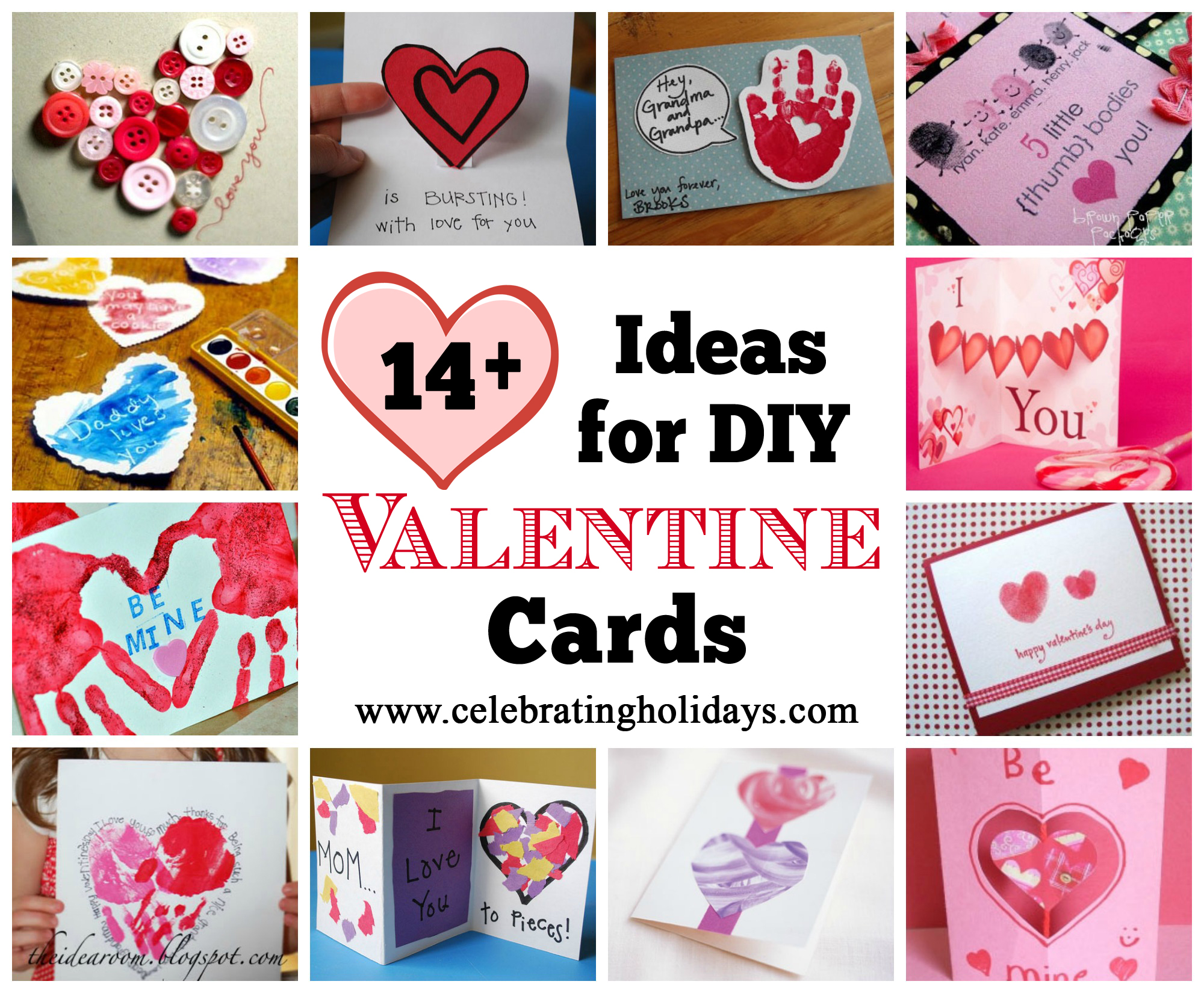 Valentines Day Diy Homemade Card Ideas Celebrating Holidays