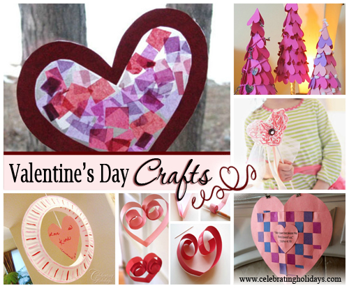 ValentineS Day Craft Ideas  Celebrating Holidays