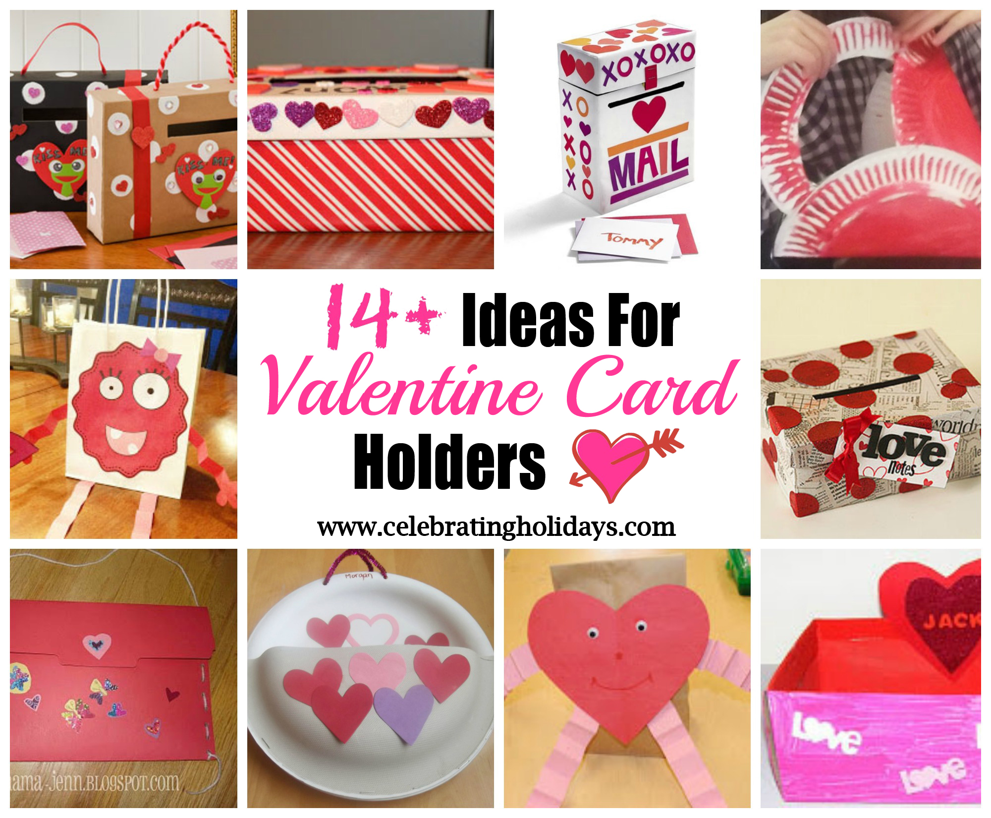 DIY Valentine Card Holder Ideas