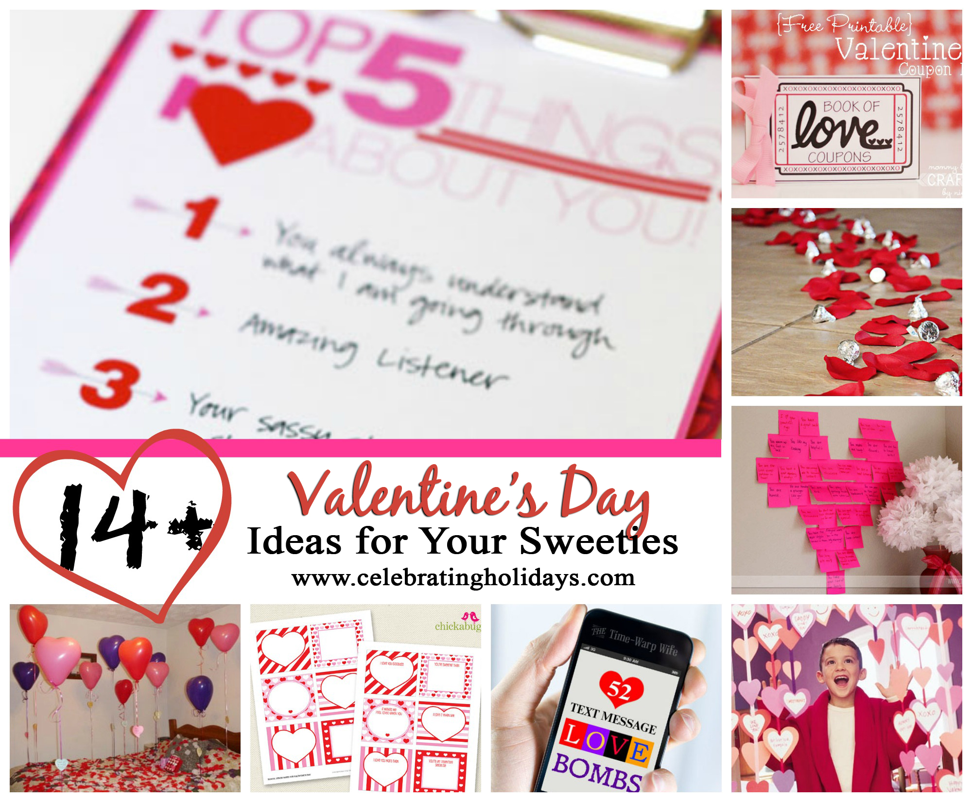 Valentine\'s Day Ideas for Your Sweeties | Celebrating Holidays