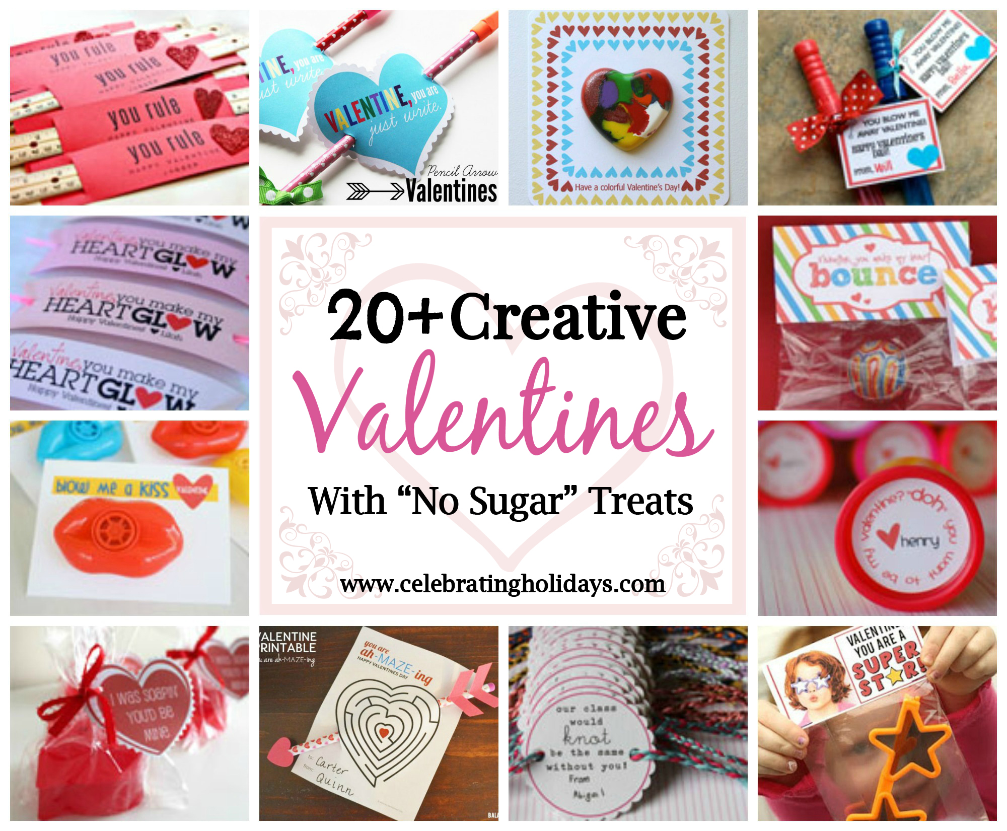 DIY Valentine Non-Edible Treats