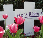 Easter Cross Witness Yard Signs