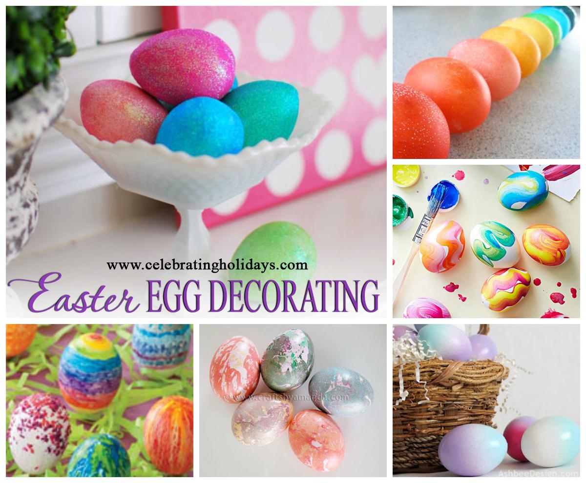 Easter Egg Decorating Ideas Celebrating Holidays