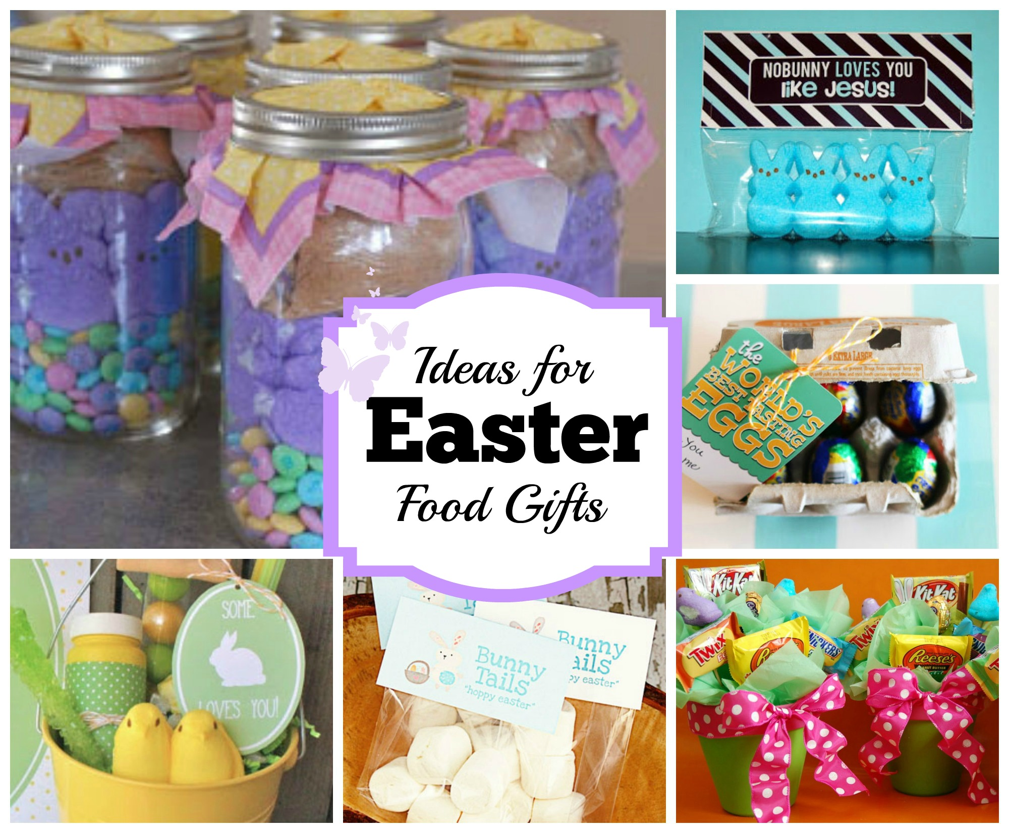 Diy easter food gift ideas celebrating holidays creative easter food gift ideas negle Choice Image