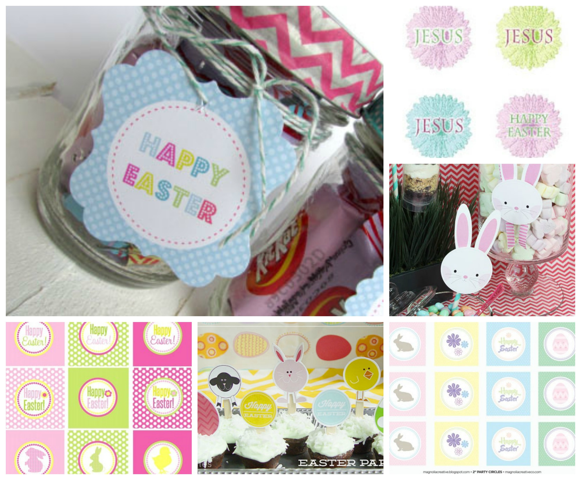 Easter card and gift ideas celebrating holidays easter free printable gift tags negle Gallery