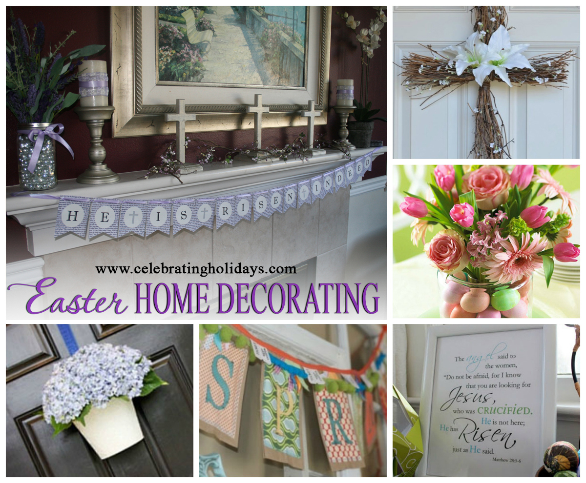 Easter Decorating | Celebrating Holidays