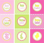 Easter free printable gift tags celebrating holidays easter free printable tags gift tags 2 negle Choice Image