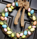 Easter Door Decor Ideas
