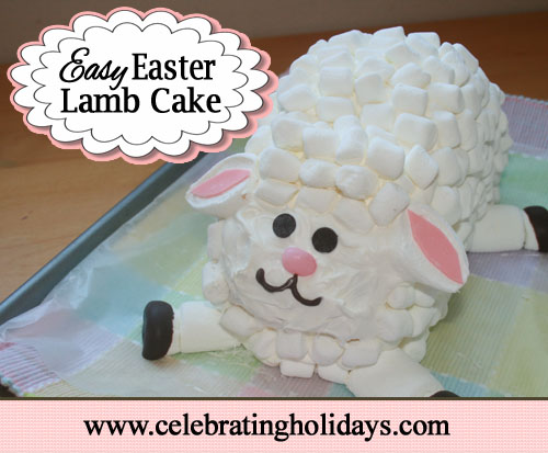 Easy Lamb Cake Recipe and Instructions