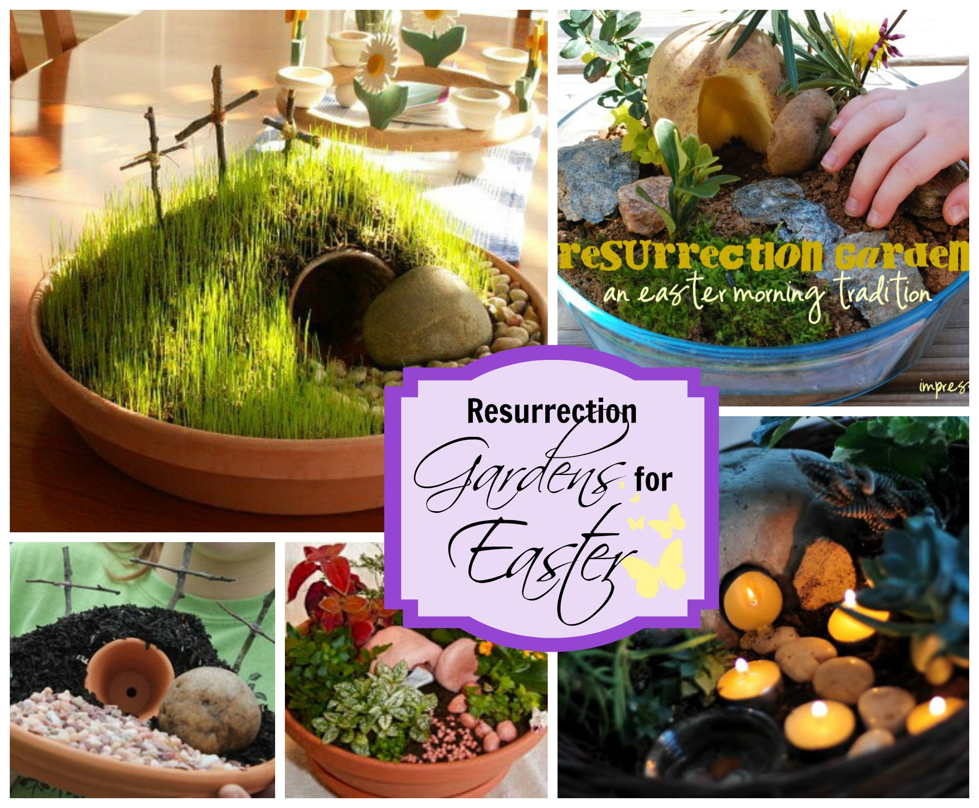 Resurrection Gardens (An Easter Tradition) | Celebrating Holidays