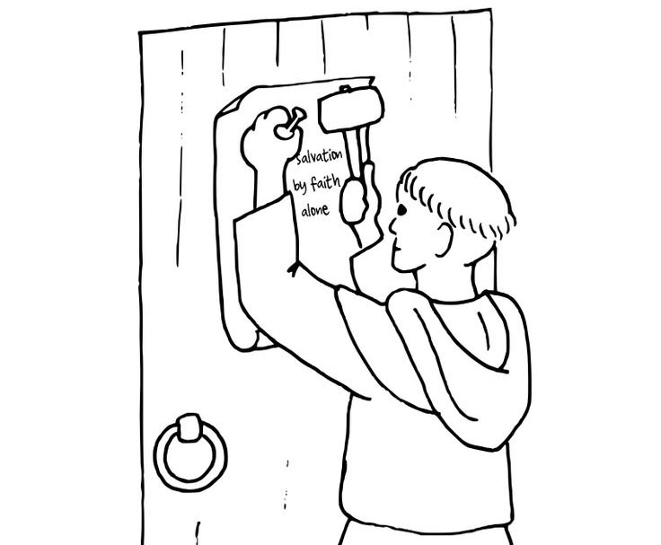 martin luther coloring pages - photo#23