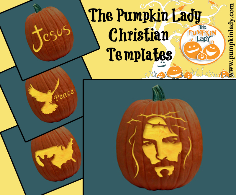Halloween family friendly pumpkin carving templates