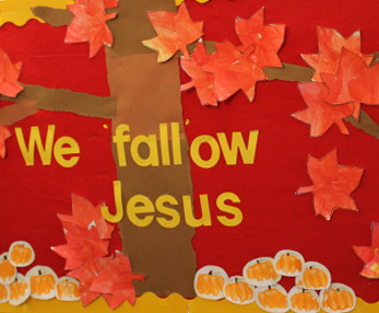 Follow Jesus Tree