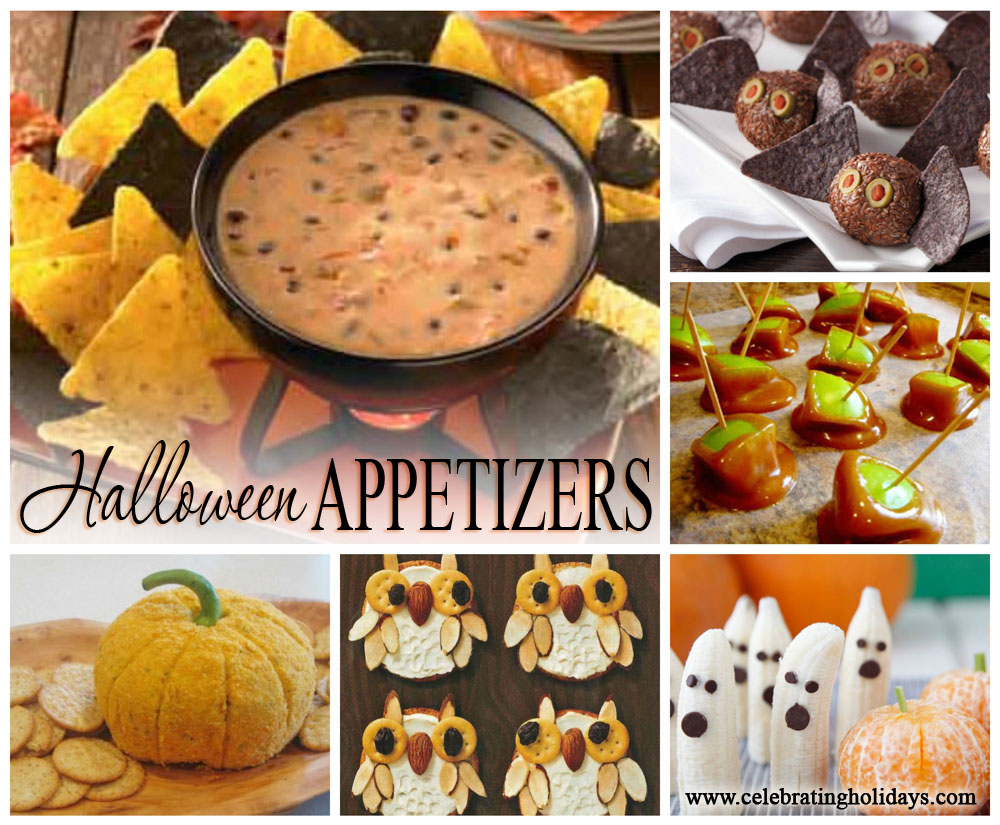 halloween appetizer recipe ideas | celebrating holidays