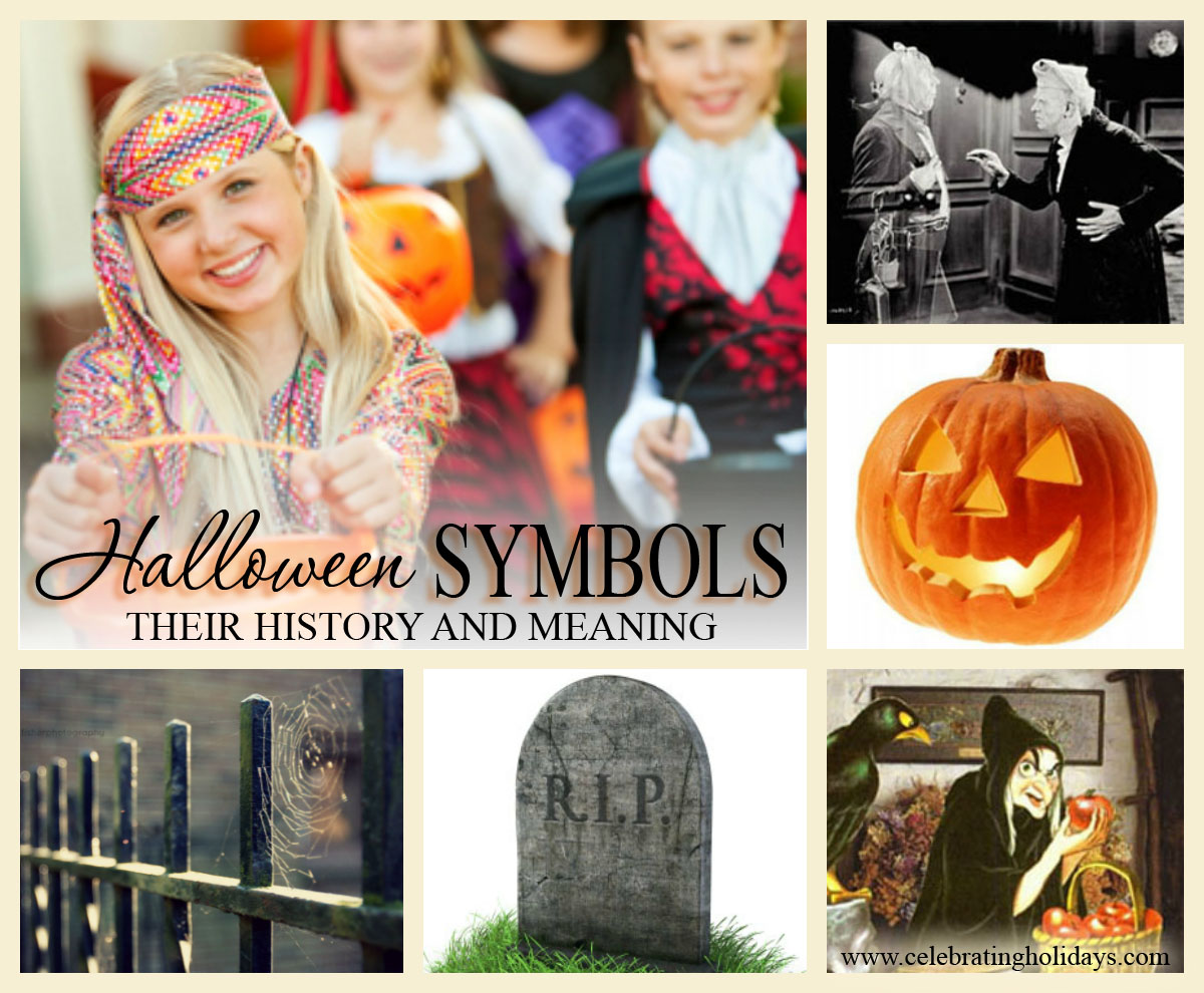 symbols for halloween celebrating holidays