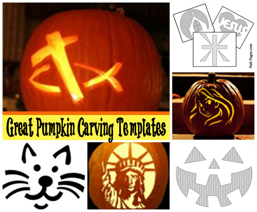 Halloween Family Friendly Pumpkin Carving Templates  Celebrating