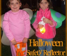 Trick-or-Treating Safety Reflectors