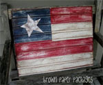 DIY Beadboard Flag for July 4th
