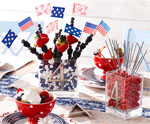 DIY Edible Centerpiece for July 4th