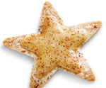 Cheesy Tortilla Stars for July 4th