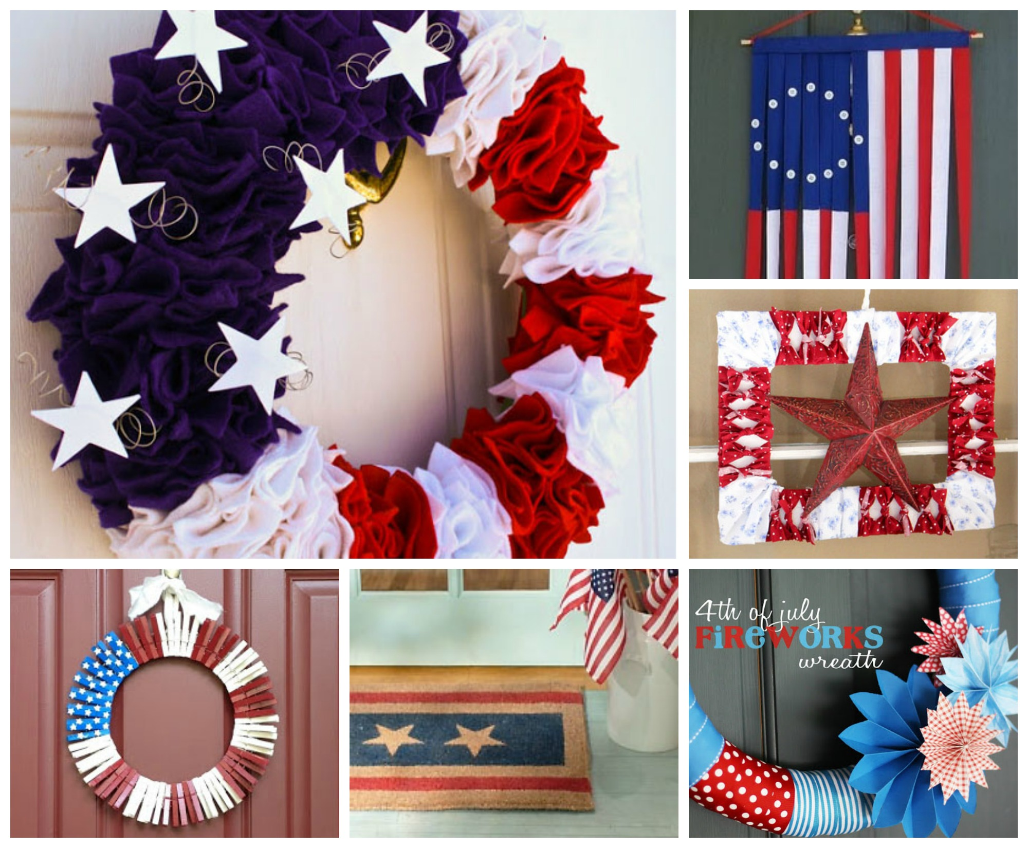 July 4th DIY Door Decorating