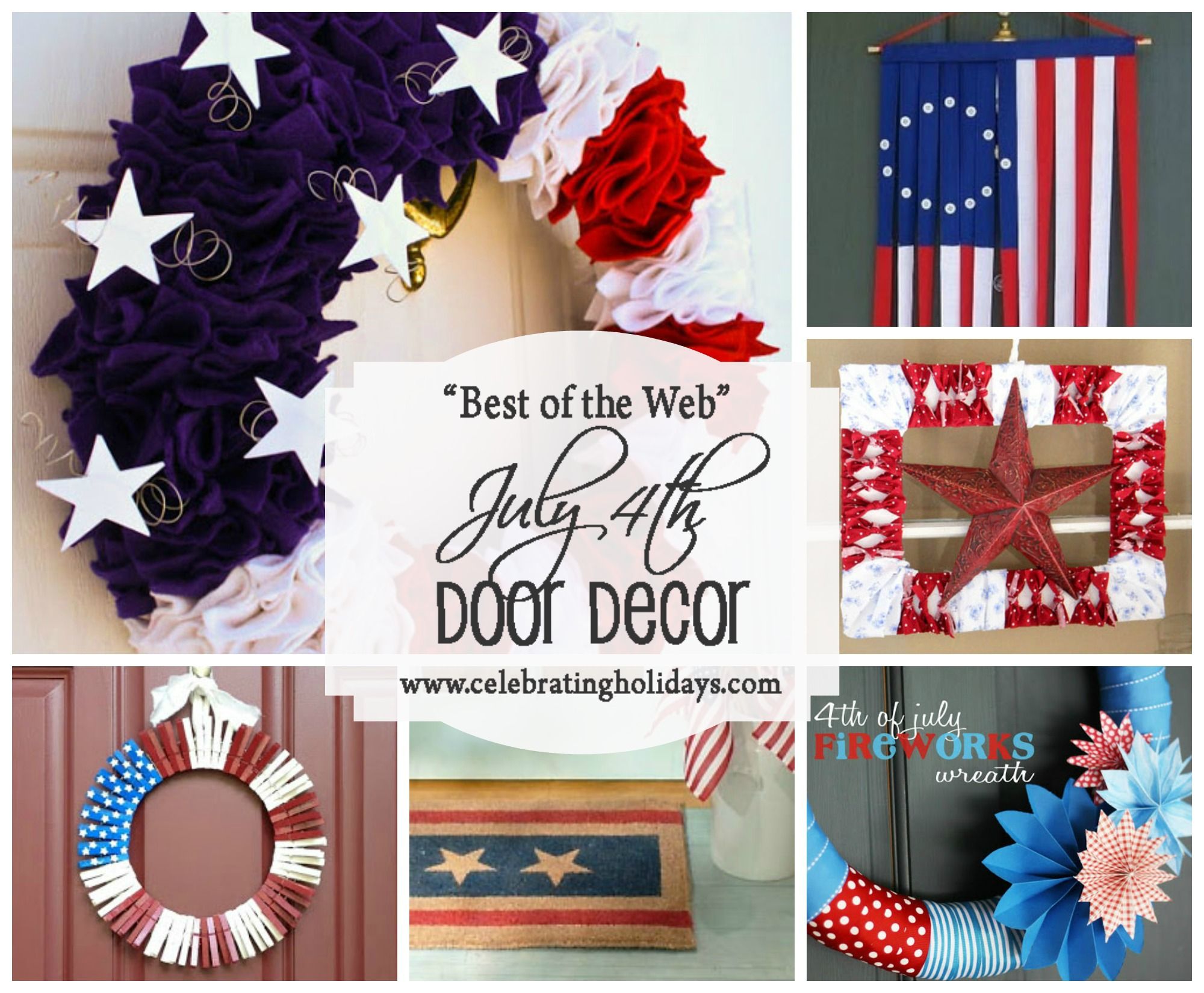 Best July 4th DIY Door Decorating Ideas