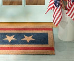 Patriotic Door Mat