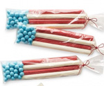 July 4th Flag Candy Treat Bag