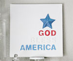 DIY God Bless America Sign