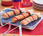 Hot Dog Rockets for July 4th