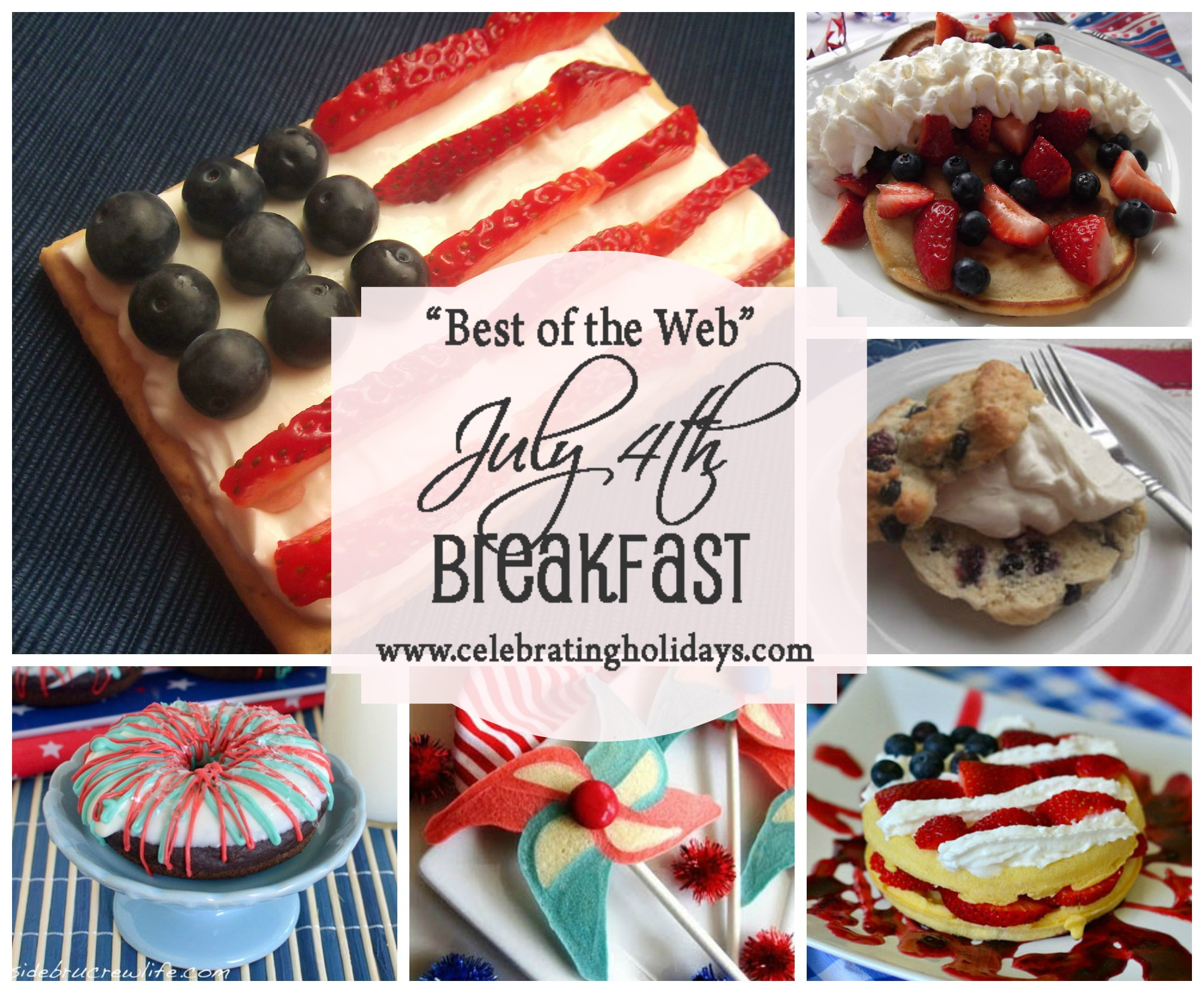 Best of the Web July 4th Breakfast Ideas