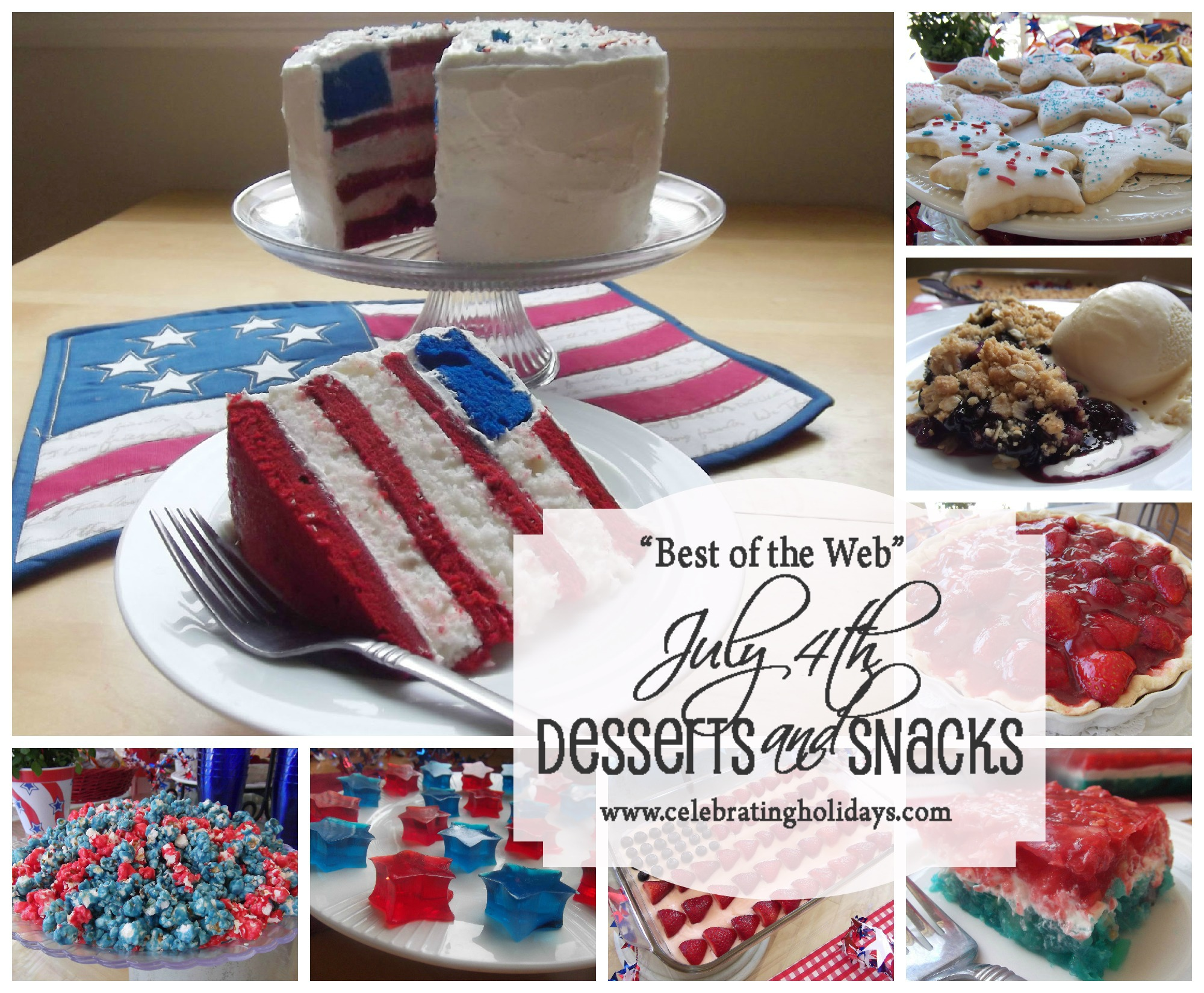 Best of the Web July 4th Dessert Ideas